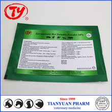 Veterinary pig kidney sis treatment Tetramisole HCL water soluble powder