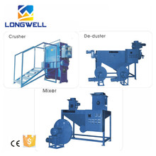LONGWELL High Efficient EPS Recycling Hot Melting Machine