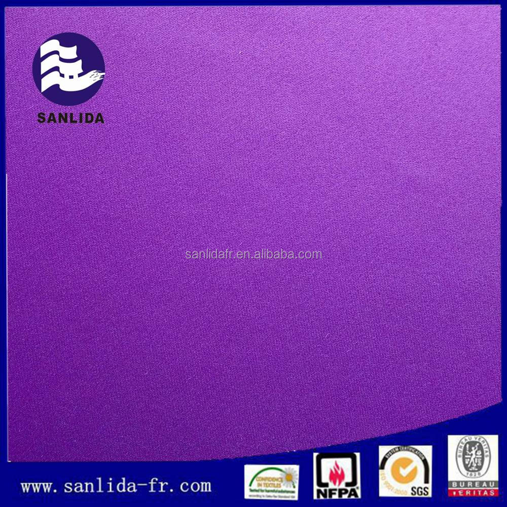 Wholesale flame retardant 100% polyester curtain fabric