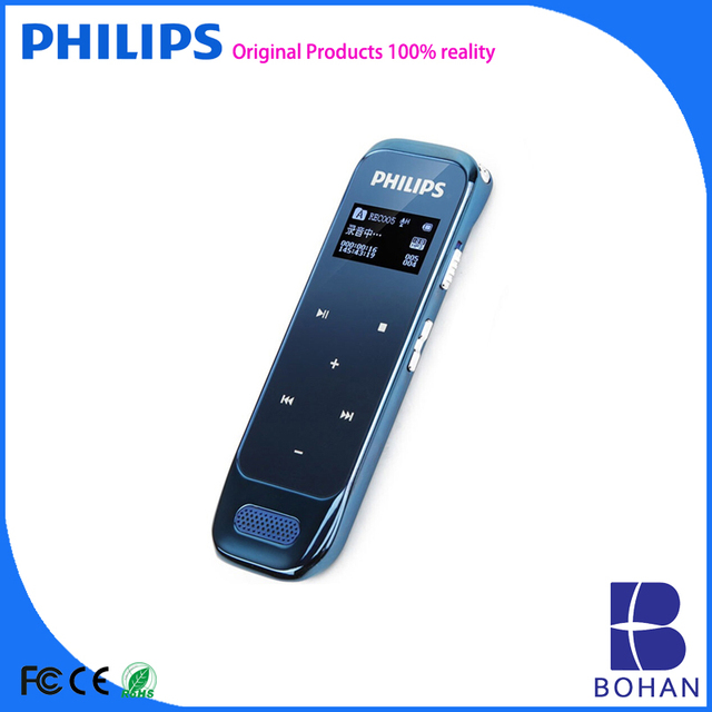 PHILIPS Dictaphone Voice Recorder with Pen Sound Recording Far Distance