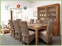 Garden Furniture Antique Dining Room Used Teak Wood Wooden Table Sets