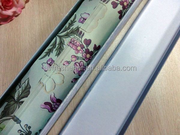 Aromatic closet paper drawer liner
