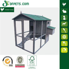 Cheap extra large run chicken hen house cage