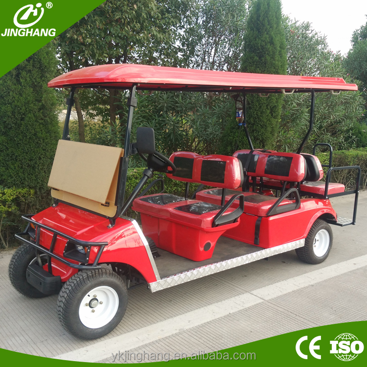 gas powered 4 seater golf carts for sale with CE/EPA certificate