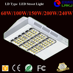 UL DLC approved solar led street light IP67 Meanwell driver 200w led garden light