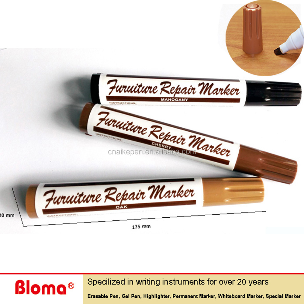 Free Sample Custom furniture repair markers for Wooden floor scratch touch up