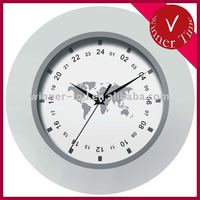 24 hours plastic wall clock