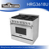 6 Burners induction cooktop Gas Range Hotel Kitchen Equipment