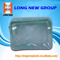 Popular PVC zipper bag pouch bag for cosmetics or make-up packaging