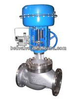 Pneumatic actuator steam trap control valve