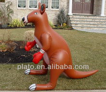 Cool inflatable plastic kangaroo kangaroo for sale