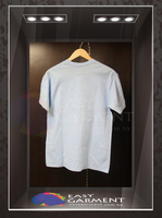 Custom Promotion with logo Plain Farbic 100% cotton 26 color Short Sleeves men White T-Shirt