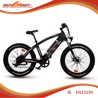 integrated battery high speed fat tire snow electric racing bike