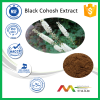 ISO&Kosher 2.5%-5% Triterpene Glycosides Black Cohosh Root Extract Powder