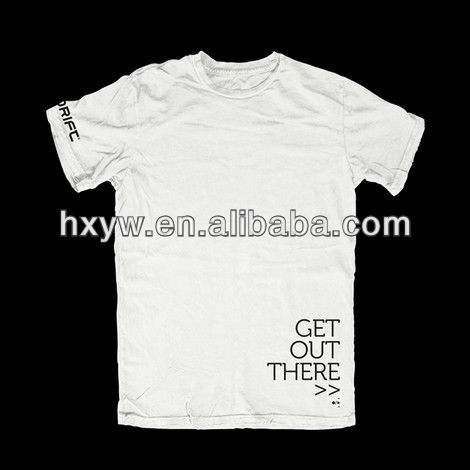 Simple blank t-shirt
