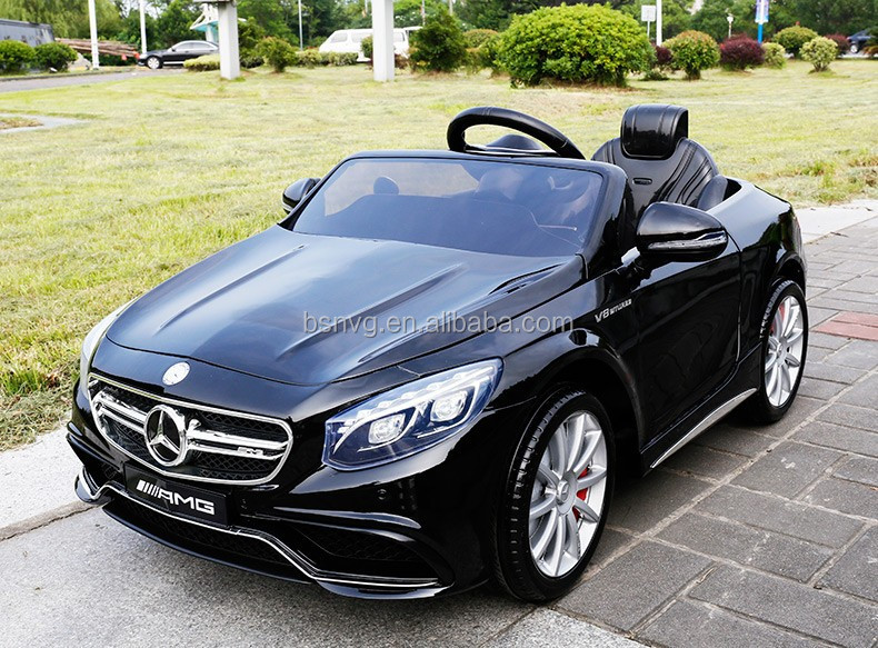 children electric toy car price 2015 licenced s63 amg