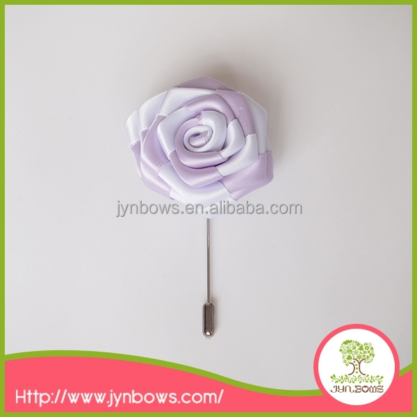 mix color rose flower brooch pin for wedding/party