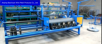 Fully-Automatic single wire chain link machine