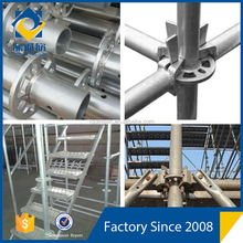 China Renqiu DX B Steel Metal Layher Scaffold/ Ringlock System Scaffolding Building Equipment for sale
