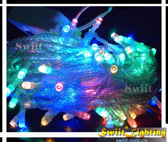 Big Promotion 10M 100LEDs/M Wholesale Artificial Christmas Wreaths Light
