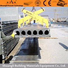 Long warranty vibration prestressed concrete hollow core slab board roof forming machines