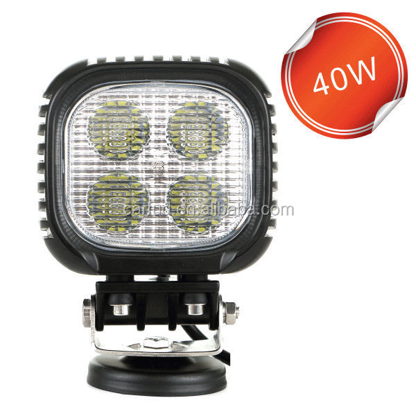 Factory direct off road 10w/pc 40w led work light 40w led work lamps 40w led work lights
