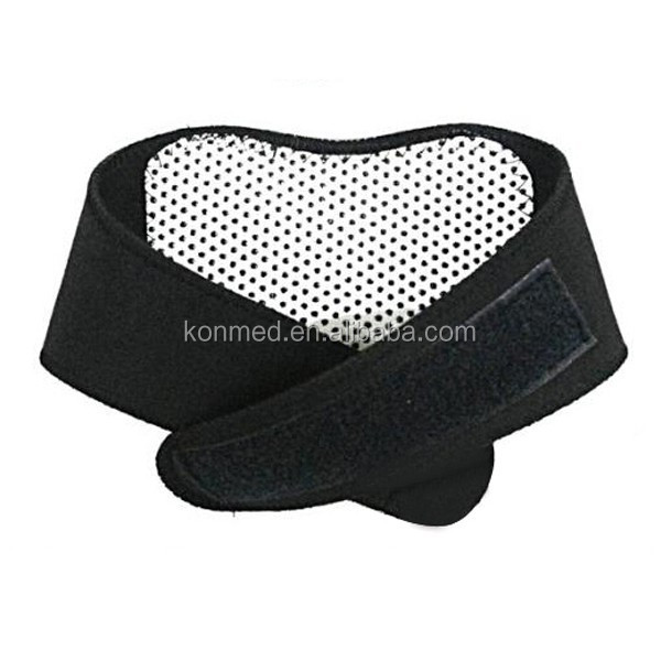 Factory price tourmaline heating magnetic neck guard belt, heating neck pad