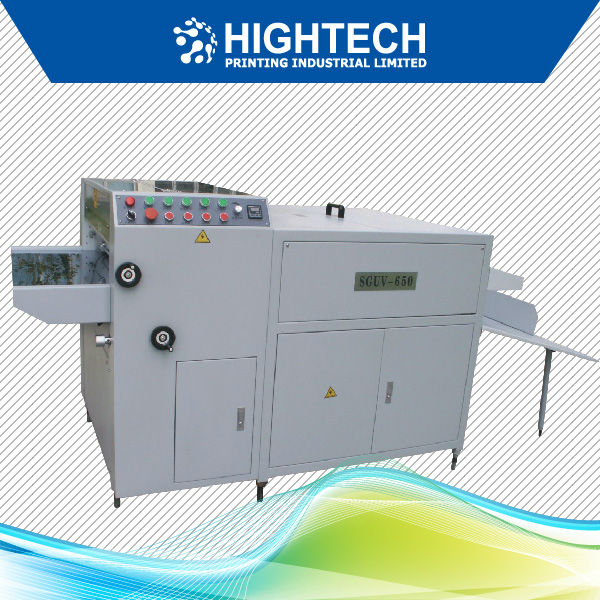 micro UV spot coating machine with UV lamp or IR lamp