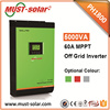 <Must Solar> PV1800 series 5kva high frequency off-grid pure sine wave MPPT/PWM 5000VA hybrid solar inverter