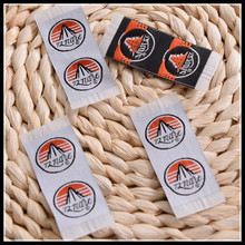 Low Price Guaranteed Quality Designs Of Textile Customized Woven Labels