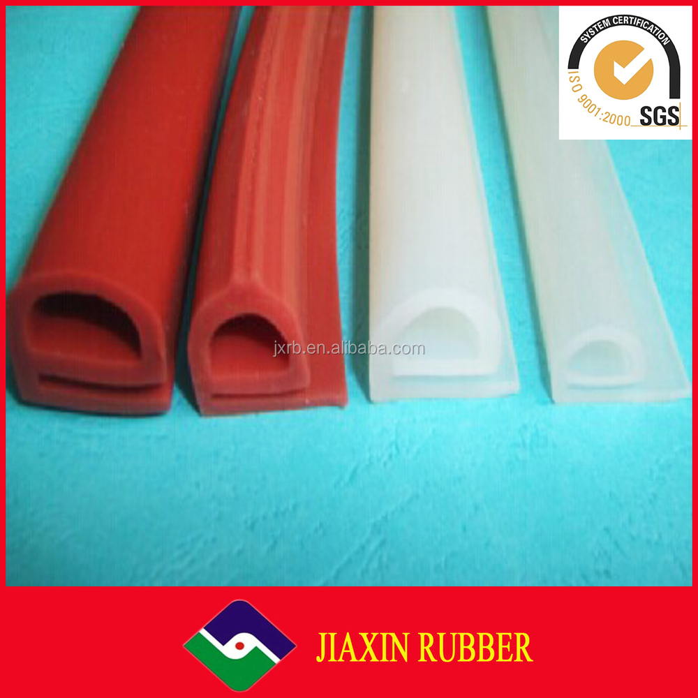 Factory manufactures High Temperature Extruded silicone rubber strips