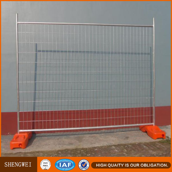 Galvanzied Australian construction site welded mesh safety temporary fence panels