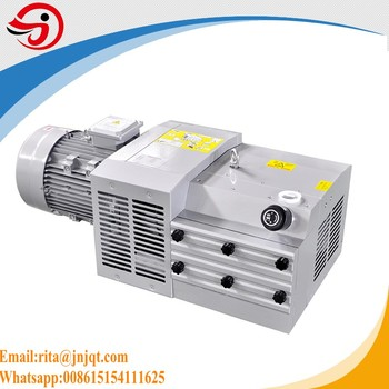 KVF140 Dry Running Rotary Vane Pump for printing offset