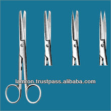 High Quality CE Approved Operating Scissors Stainless Steel Clamp Scissors Surgical Instruments