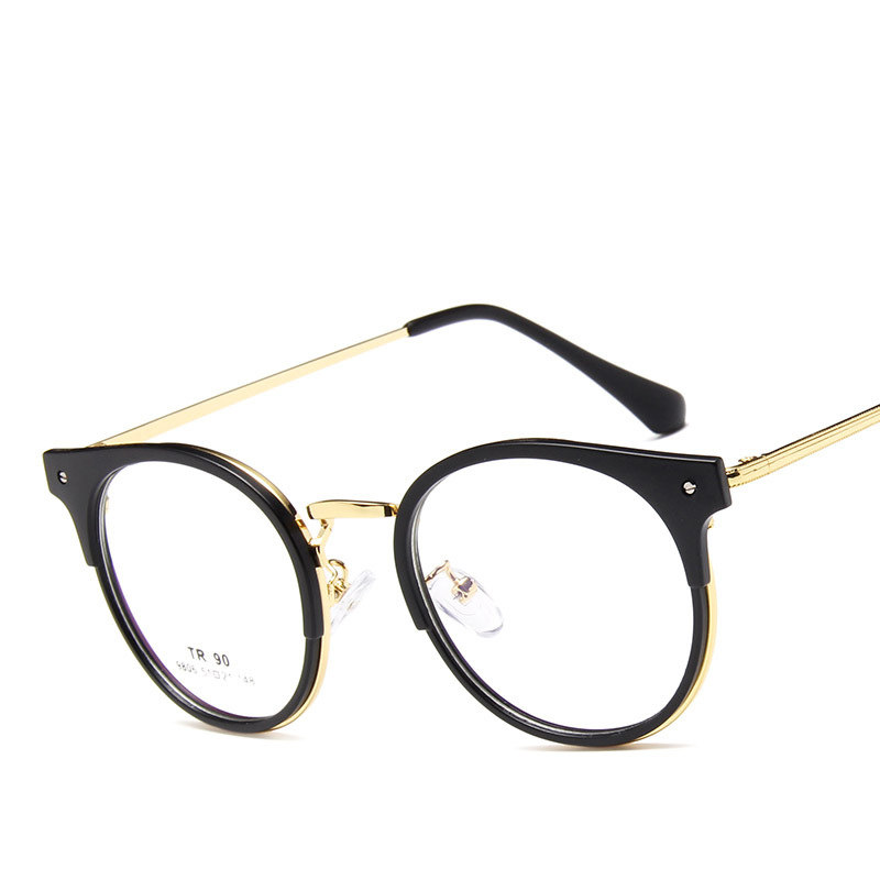 Retro trend glasses frame TR 90 glasses frame can be equipped with reading glasses optical frames