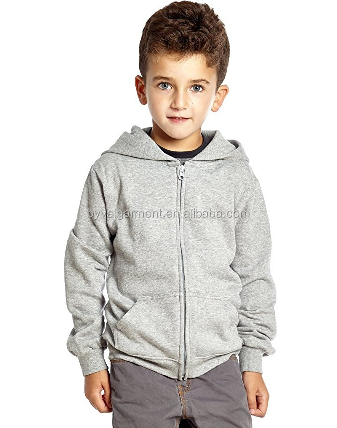 100% Cotton Hoodie Boys Hoodies Kids Blank Zip Up Hoody Sweatshirt Wholesale Best price for retailer