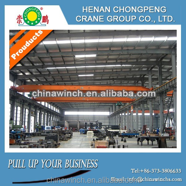 China -10T - 22.5m High-strength Single Beam Overhead Crane With Reasonable Cost