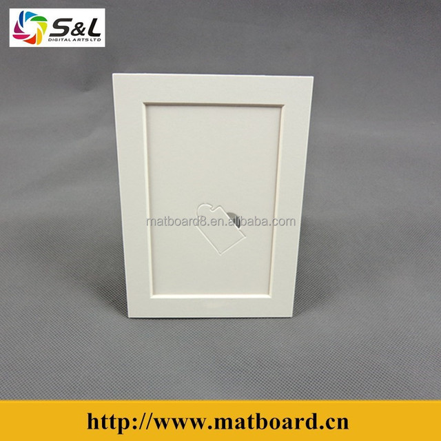 cardboard picture frame with easel backs photos frame 5x7,6x8,8x10,11x14