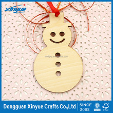 Snowman Wooden Cutout Shape, Silhouette, Laser Cut Unfinished Wood craft