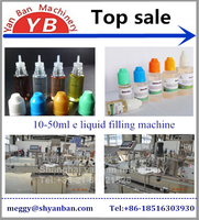 Shanghai factory Automatic e cigarette filling capping machine