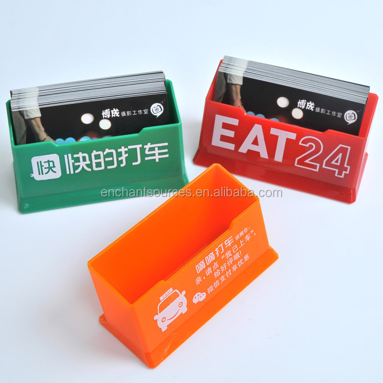 Cheap plastic business card holder wholesale