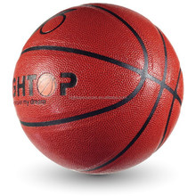 custom basketball ball/ 8 panels laminated basketball official size and weight