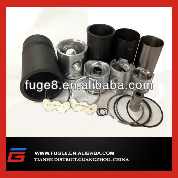 PC130-7 piston and liner kits fit for 4D95 engine
