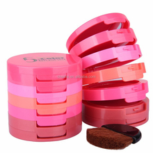 Music Flower 5 color Brusher Palette Beauty Red Blush Makeup Baked Cheek Color mineral Cream blusher color