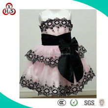 2015 pink dress for girl doll small doll clothes