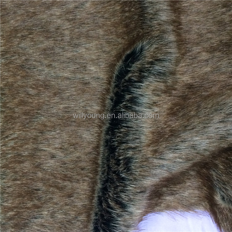 mink fur 1000 gsm plush fabric marten fox hair deep pile faux fur fabric for coat soft toy stuffed animal peluche 100% poly