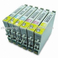 Color ink cartridges for Epson T0851 to T0856 BK C M Y LC LM Used for inkjet printer Epson stylus photo 1390