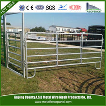 2015 Galvanized steel metal livestock/animal farm fence panel
