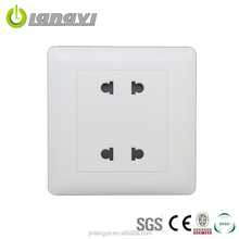 Hot Sale Wholesale 250V 10A Double Universal Electrical Wall Outlet