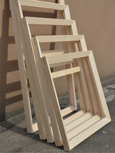 canvas wooden stretcher bars